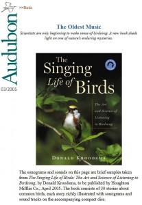 Audubon--oldest music